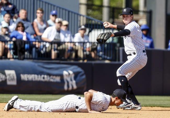 Toronto Blue Jays at New York Yankees 4/3/21 MLB Picks and Predictions