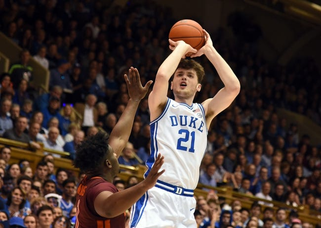 Duke at Virginia Tech: 1/12/21 College Basketball Picks and Predictions