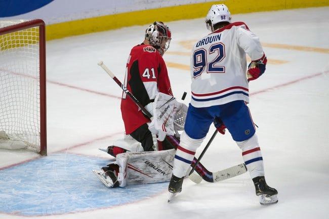 Montreal Canadiens vs Ottawa Senators NHL Picks, Odds, Predictions 2/4/21