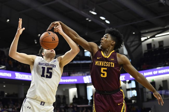 Northwestern at Minnesota: 2/25/21 College Basketball Picks and Predictions
