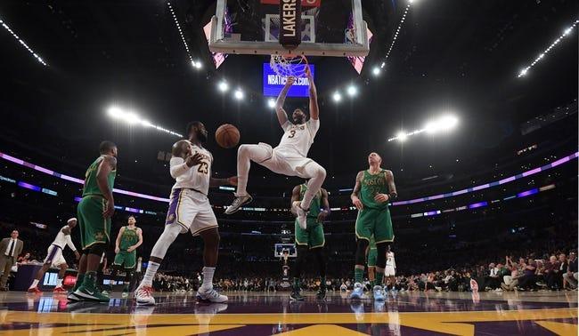 Los Angeles Lakers at Boston Celtics - 1/30/21 NBA Picks and Prediction