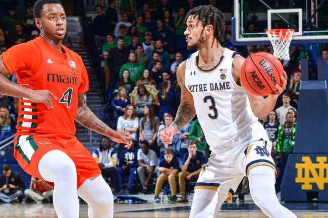 Notre Dame at Miami: 1/24/21 College Basketball Picks and Predictions