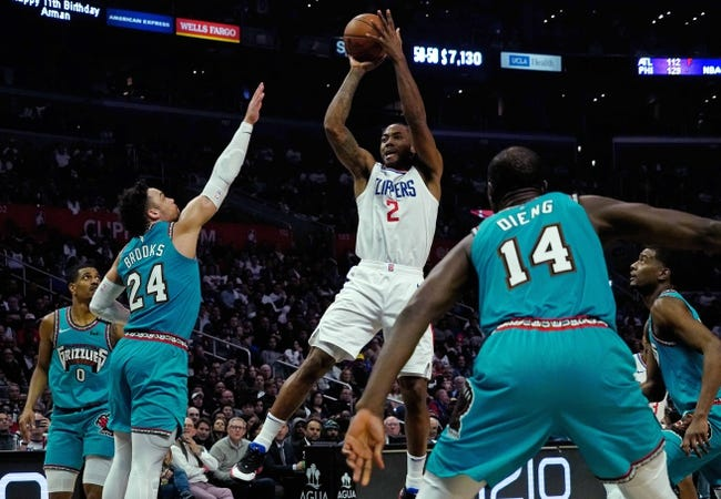 Los Angeles Clippers at Memphis Grizzlies - 2/25/21 NBA Picks and Prediction