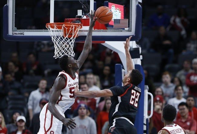 Oklahoma vs Texas Tech College Basketball Picks, Odds, Predictions 12/22/20