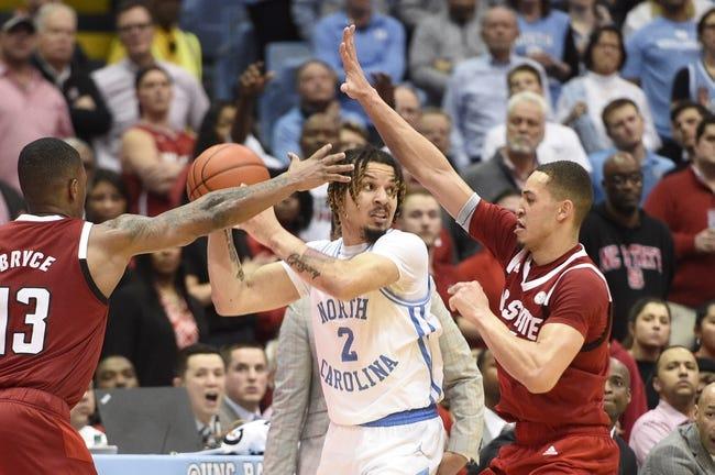 North Carolina vs NC State College Basketball Picks, Odds, Predictions 1/23/21