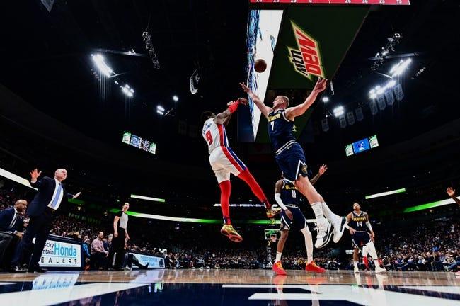 Detroit Pistons at Denver Nuggets - 4/6/21 NBA Picks and Prediction