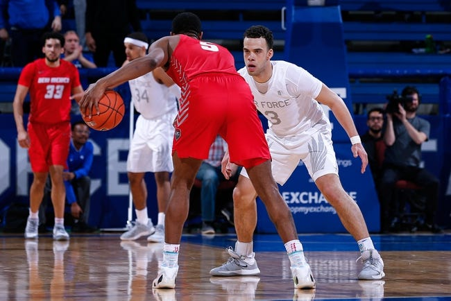 Air Force vs New Mexico College Basketball Picks, Odds, Predictions 2/22/21