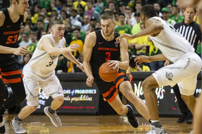 Oregon State at Oregon: 1/23/21 College Basketball Picks and Predictions