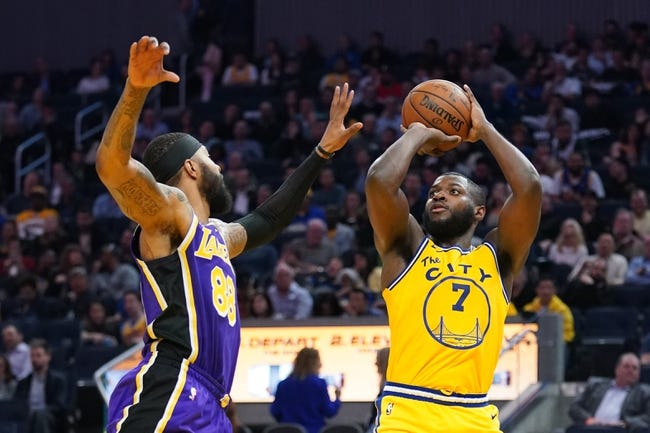 Golden State Warriors at Los Angeles Lakers - 1/18/21 NBA Picks and Prediction