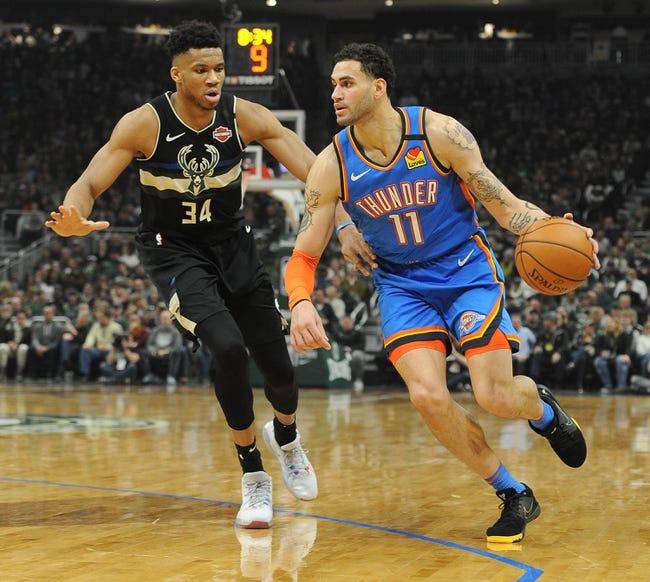 Milwaukee Bucks at Oklahoma City Thunder - 2/14/21 NBA Picks and Prediction