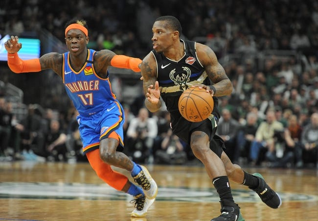 Oklahoma City Thunder vs Milwaukee Bucks NBA Picks, Odds, Predictions 2/14/21