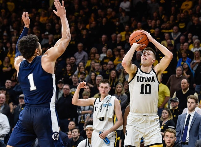 Penn State at Iowa: 2/21/21 College Basketball Picks and Predictions