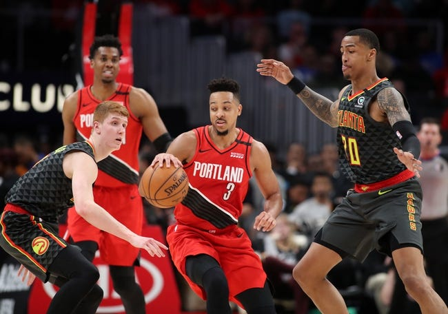 Atlanta Hawks at Portland Trail Blazers - 1/16/21 NBA Picks and Prediction