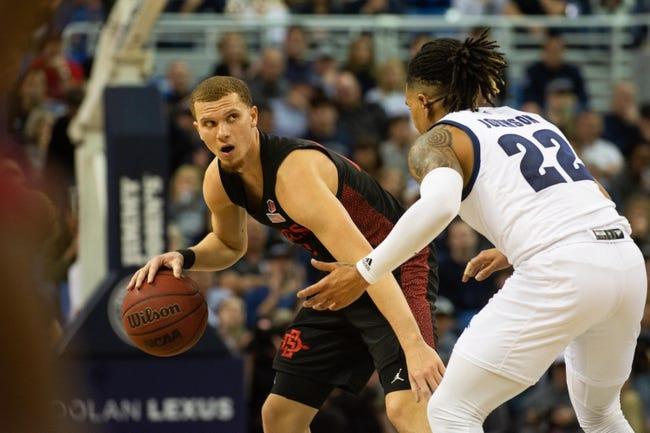 San Diego State vs Nevada College Basketball Picks, Odds, Predictions 1/7/21