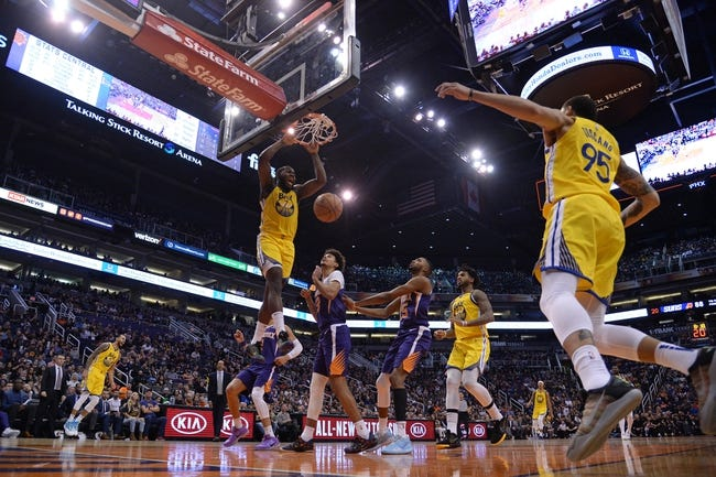 Golden State Warriors at Phoenix Suns - 1/28/21 NBA Picks and Prediction