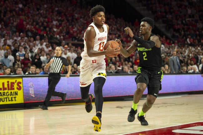 Maryland vs Michigan State College Basketball Picks, Odds, Predictions 2/28/21