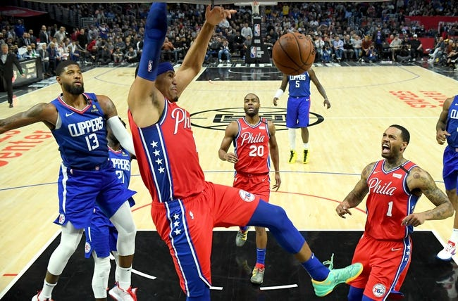 Philadelphia 76ers at Los Angeles Clippers - 3/27/21 NBA Picks and Prediction