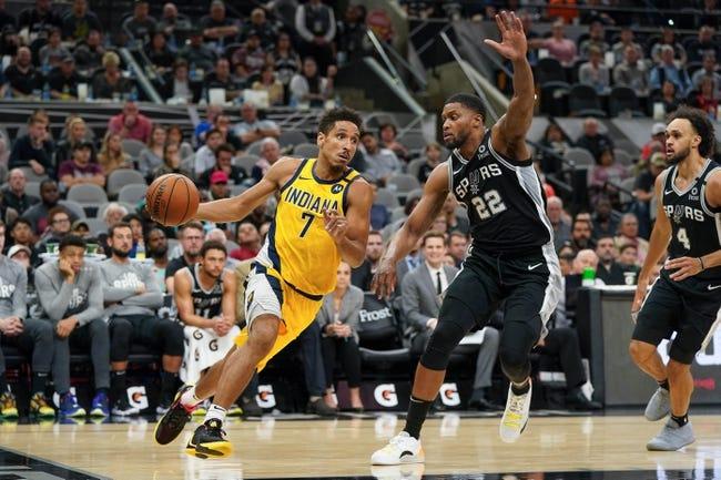 Indiana Pacers at San Antonio Spurs - 4/3/21 NBA Picks and Prediction