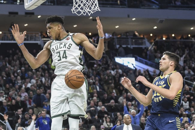 Milwaukee Bucks vs Indiana Pacers NBA Picks, Odds, Predictions 2/3/21