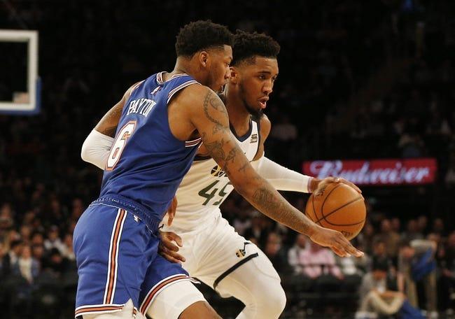 New York Knicks vs Utah Jazz NBA Picks, Odds, Predictions 1/6/21
