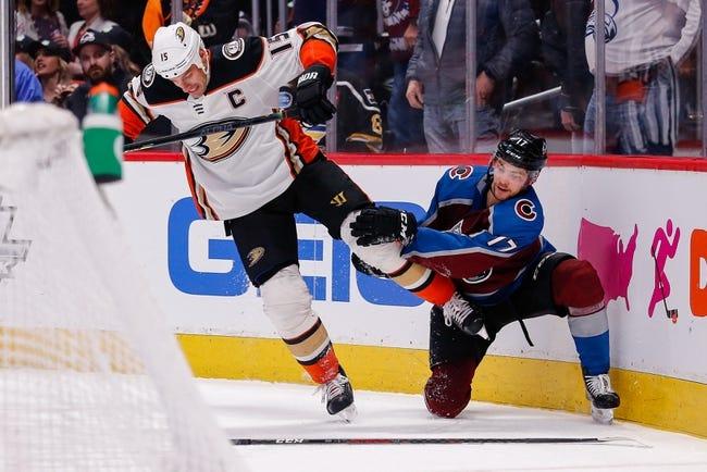 Anaheim Ducks vs Colorado Avalanche NHL Picks, Odds, Predictions 1/22/21
