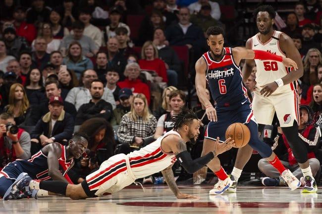 Portland Trail Blazers at Washington Wizards - 2/2/21 NBA Picks and Prediction