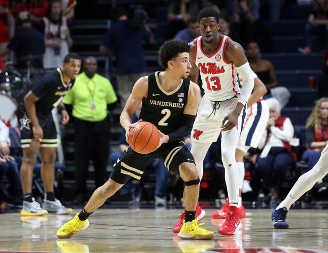 Mississippi at Vanderbilt 2/27/21 College Basketball Picks and Predictions
