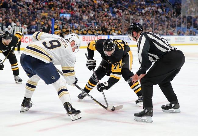 Buffalo Sabres vs Pittsburgh Penguins NHL Picks, Odds, Predictions 3/11/21