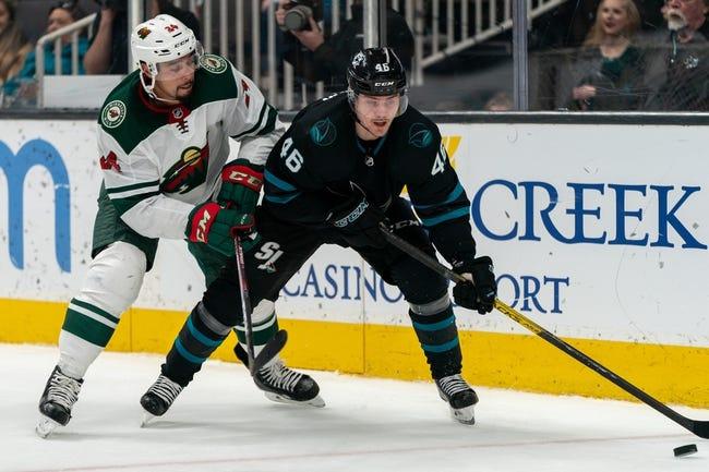 Minnesota Wild vs San Jose Sharks NHL Picks, Odds, Predictions 1/22/21