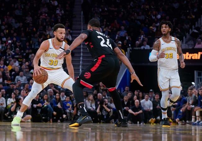Toronto Raptors at Golden State Warriors - 1/10/21 NBA Picks and Prediction