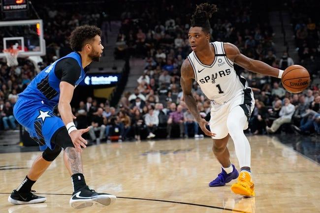 Orlando Magic at San Antonio Spurs - 3/12/21 NBA Picks and Prediction