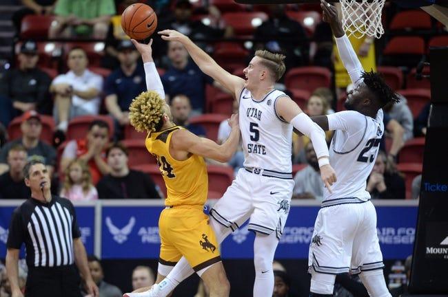 Wyoming at Utah State: 3/4/21 College Basketball Picks and Predictions