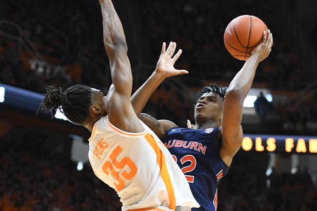 Tennessee at Auburn: 2/27/21 College Basketball Picks and Predictions