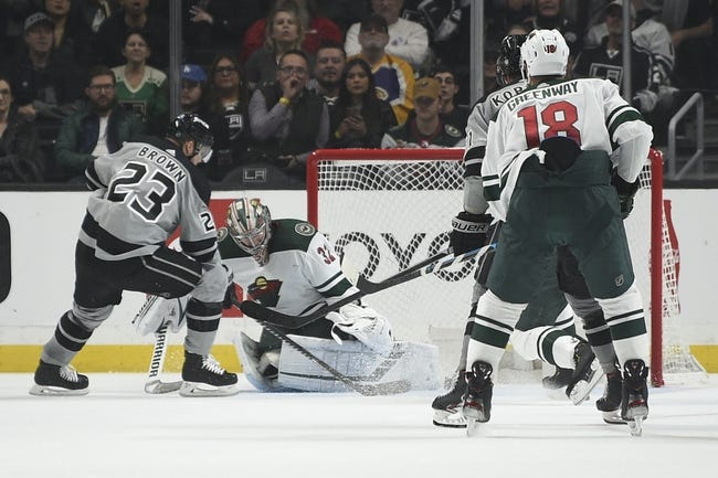 Minnesota Wild at Los Angeles Kings - 1/14/21 NHL Picks and Prediction