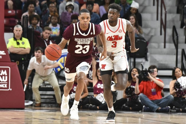 Mississippi  at Mississippi State:  1/19/21 College Basketball Picks and Predictions