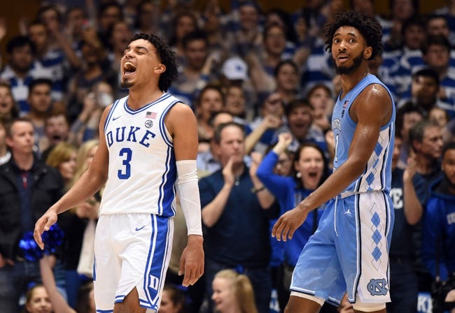 Duke at North Carolina: 3/6/21 College Basketball Picks and Predictions