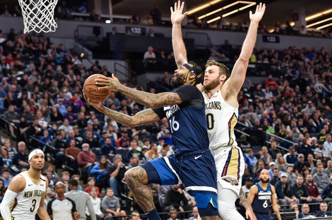 New Orleans Pelicans at Minnesota Timberwolves - 1/23/21 NBA Picks and Prediction