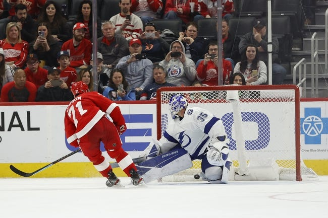 Tampa Bay Lightning vs Detroit Red Wings NHL Picks, Odds, Predictions 2/3/21