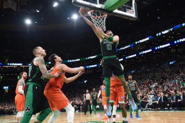 Boston Celtics at Oklahoma City Thunder - 3/27/21 NBA Picks and Prediction
