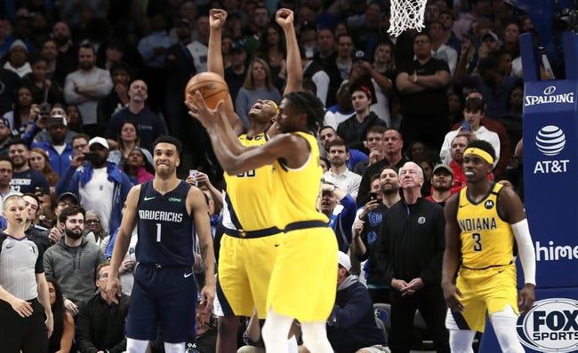 Indiana Pacers vs Dallas Mavericks NBA Picks, Odds, Predictions 1/20/21