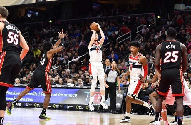 Washington Wizards vs Miami Heat NBA Picks, Odds, Predictions 1/9/21
