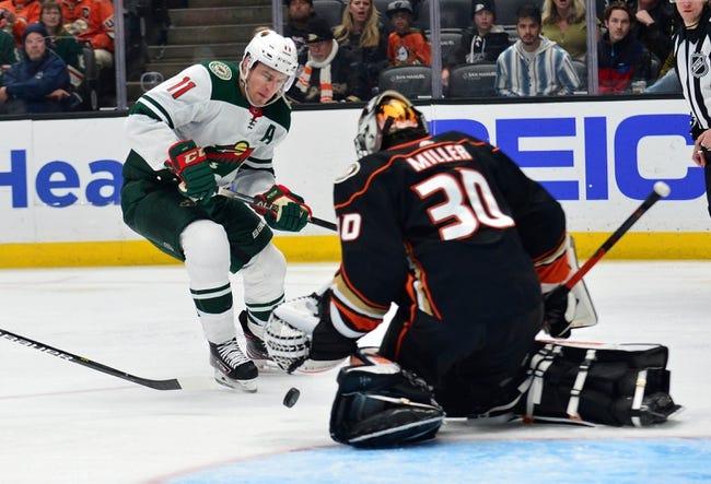 Anaheim Ducks vs Minnesota Wild NHL Picks, Odds, Predictions 1/18/21
