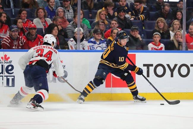Washington Capitals at Buffalo Sabres - 1/14/21 NHL Picks and Prediction