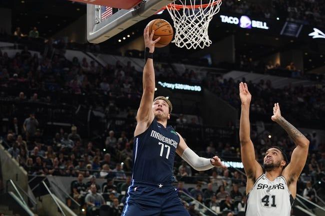 Dallas Mavericks at San Antonio Spurs - 1/22/21 NBA Picks and Prediction