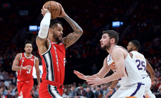 Portland Trail Blazers at Phoenix Suns - 2/22/21 NBA Picks and Prediction
