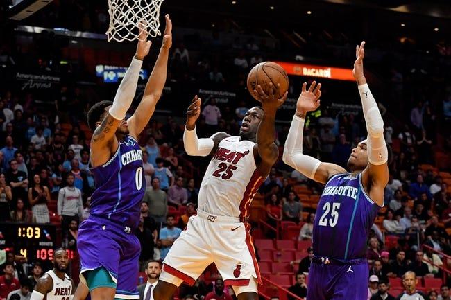 Miami Heat vs Charlotte Hornets NBA Picks, Odds, Predictions 2/1/21