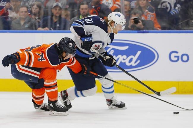 Edmonton Oilers at Winnipeg Jets - 1/24/21 NHL Picks and Prediction