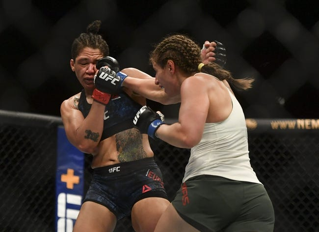 UFC Fight Island 7: Sarah Moras vs. Vanessa Melo Picks, Odds and Predictions