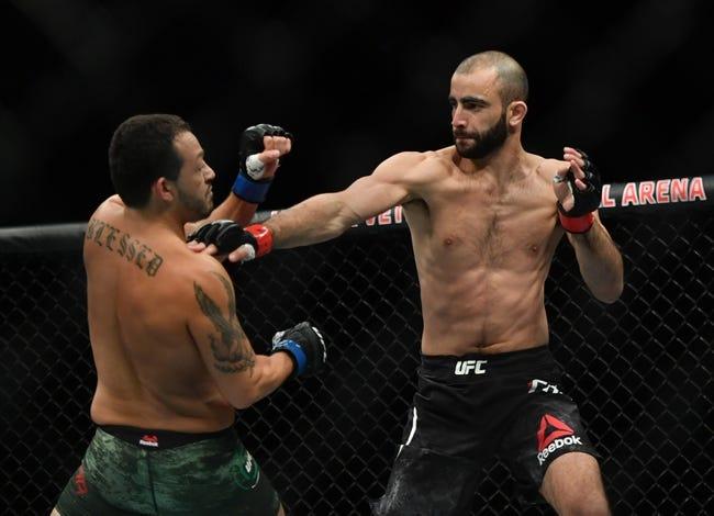 UFC Vegas 35: Edson Barboza vs. Giga Chikadze Picks and Predictions