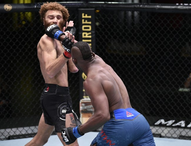 UFC 260: Jamie Mullarkey vs Khama Worthy Picks, Odds, and Predictions
